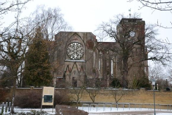 kirchenruine, Wachau, Leipzig, Kirchenruine Wachau, Kirche,