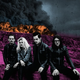 The Dead Weather - Dodge and Burn album cover art