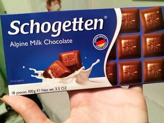 Alpine milk chocolate