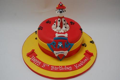 Marshall From Paw Patrol Cake Beautiful Birthday Cakes