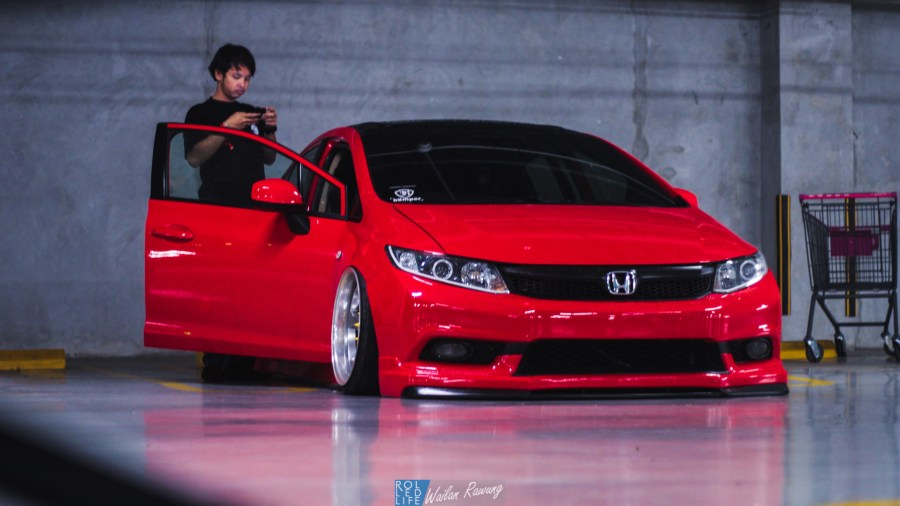 Stance Honda Civic with 326 Power Yabaking-17