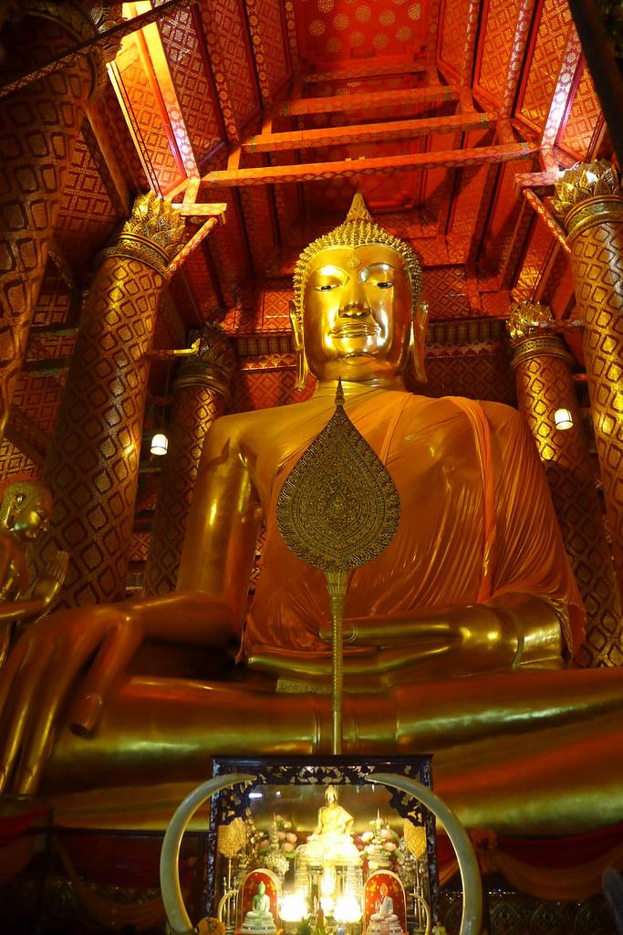 Thaïlande - Ayutthaya - 126 - Wat Phanan Choeng