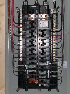 Electrical closeup | Siemens 3040 150A Main Breaker panel