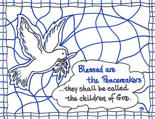 Peacemakers4 Bulletin cover for Epiphany 4a John Flickr