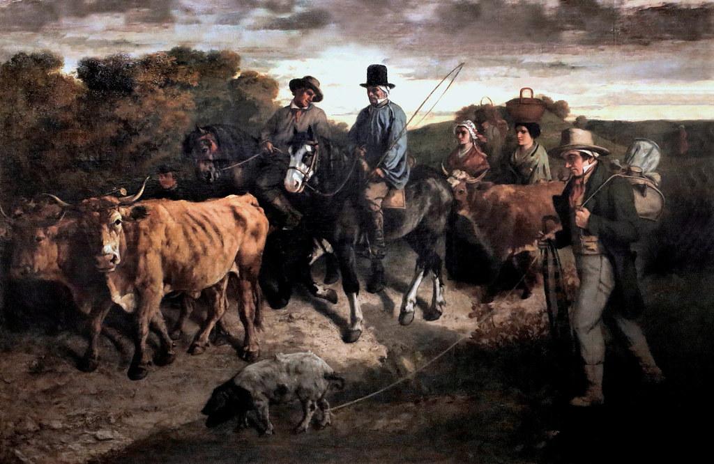 Img 0580b Gustave Courbet 1819 1877 Paris Les Paysans De