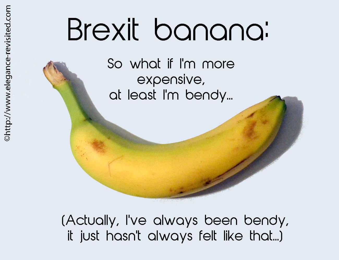 bendy bananas