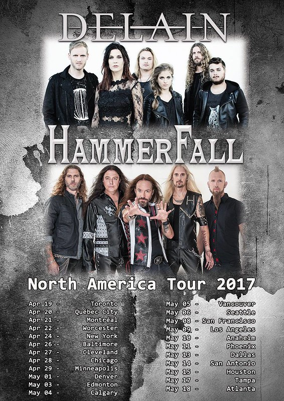 Hammerfall at the Baltimore Soundstage