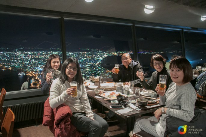 The Night View from Mt. Hakodate