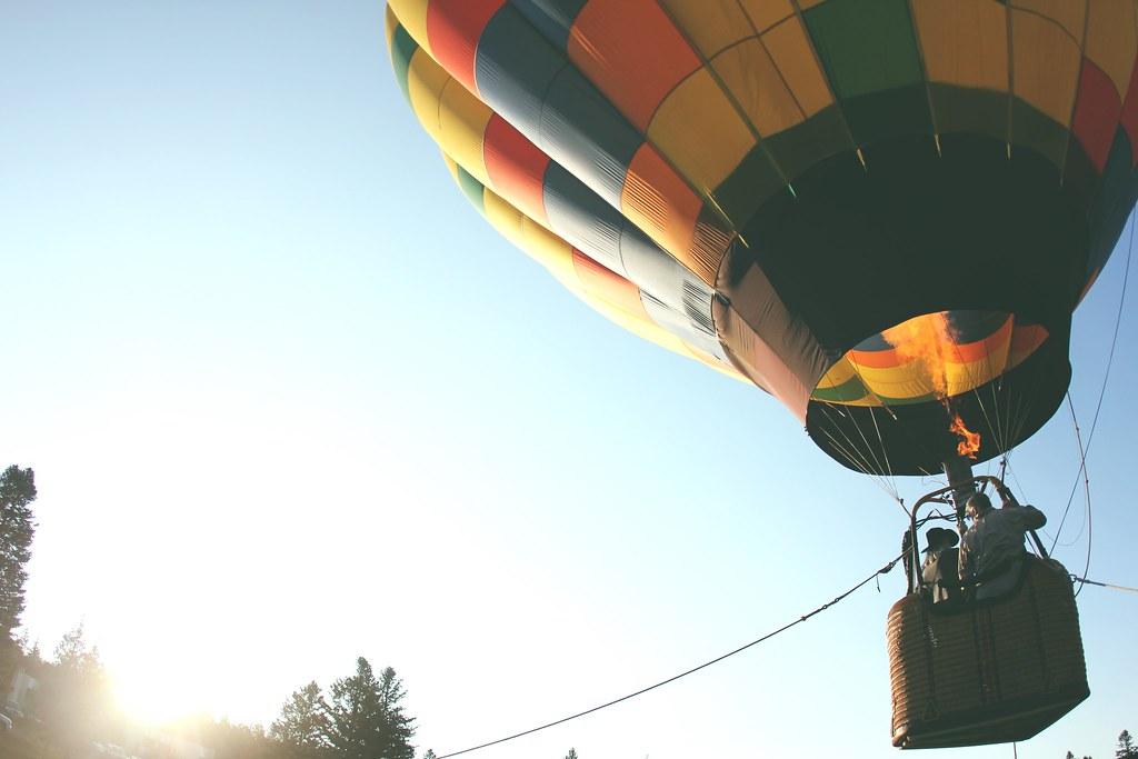Imagen gratis de un globo aerostático