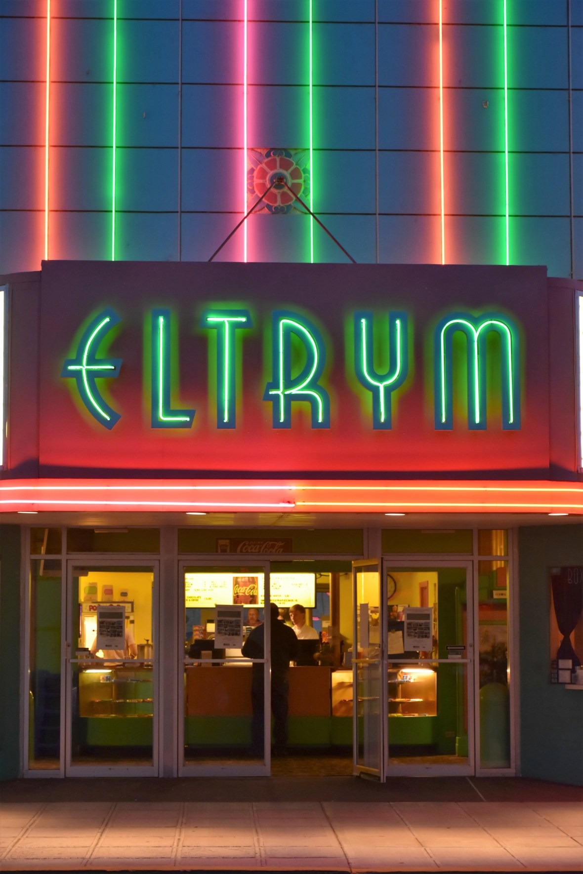 Eltrym Theater - 1809 1st Street, Baker City, Oregon U.S.A. - October 8, 2016
