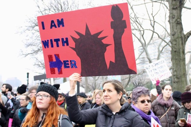 Women's March, Philadelphia - January 21, 2017