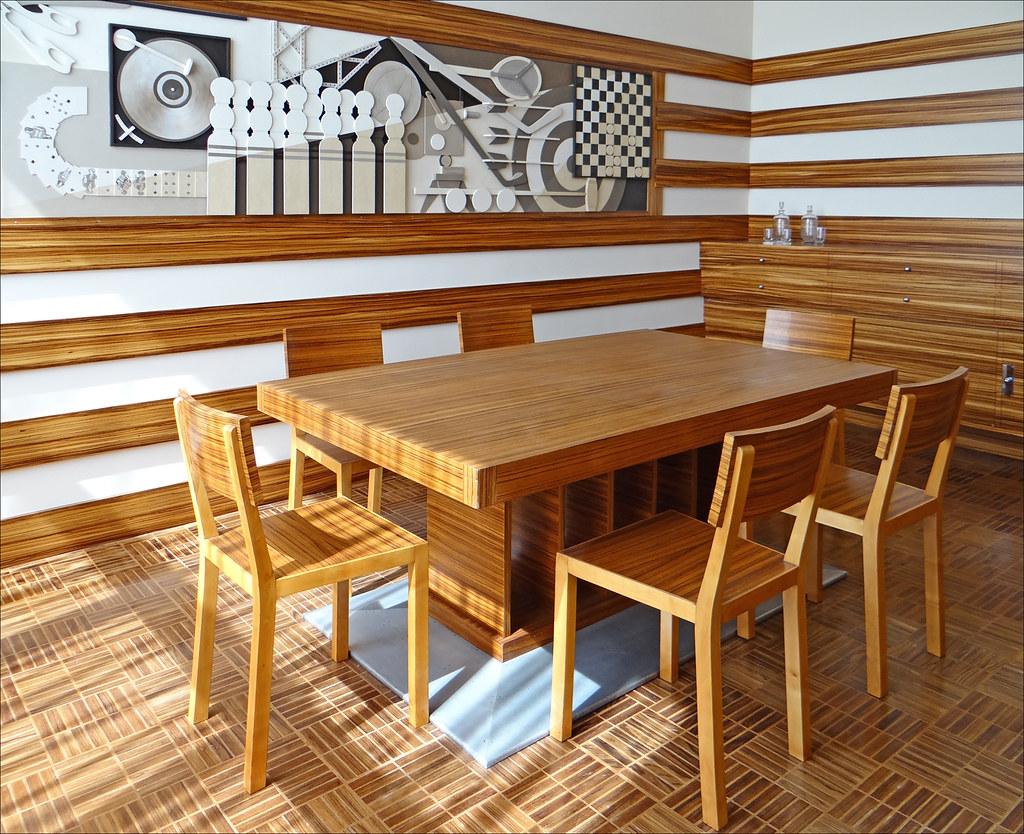 La salle  manger des enfants Villa Cavrois Croix  Flickr