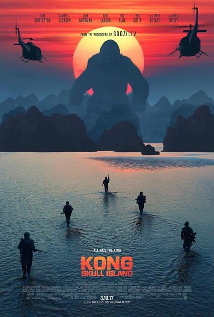 Kong: La Isla Calavera - Estreno de cine