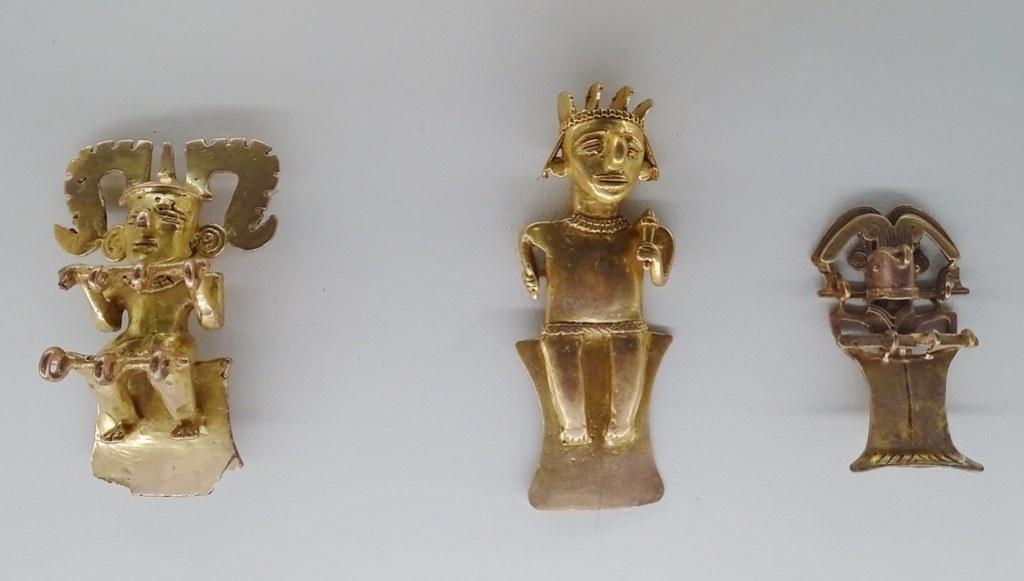 Figurilla humana de oro Museo de Oro Precolombino Banco Central San Jose Costa 05