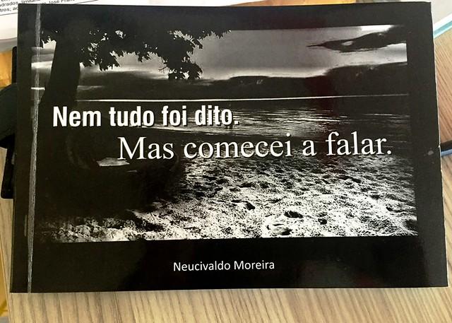 Escritor santareno lança novo livro; o 5º desde a estreia há 18 anos, Novo livro de Neucivaldo Moreira