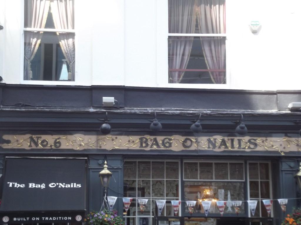 Bag O Nails Buckingham Palace Road Victoria London