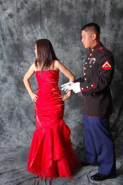 Marine Corps Ball She Was Having Trouble Finding A Pose