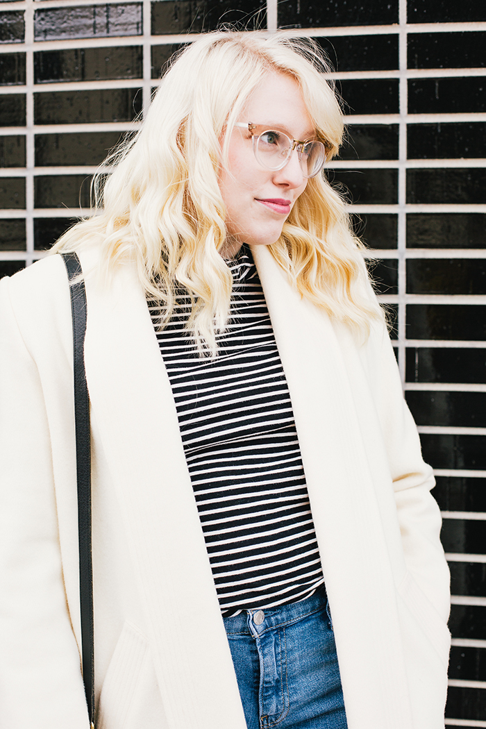 austin fashion blogger vintage white coat13