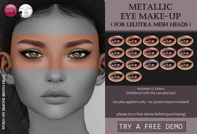 Metallic Eye Make-Up (LeLutka)