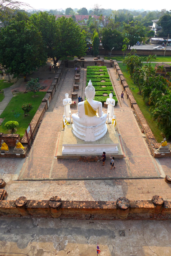 Thaïlande - Ayutthaya - 214 - Wat Yai Chai Mongkhon