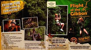 Brochure Flight of the Gibbon Chiang Mai Thailand 1