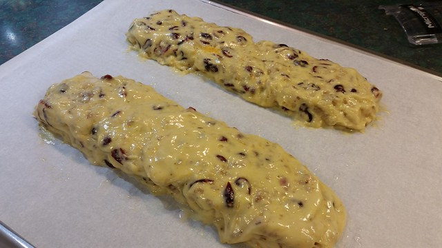 Cranberry-Orange Biscotti