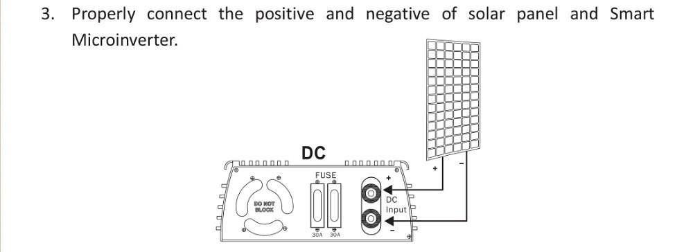 1000W 110V Solar Grid Tie Inverter Stackable MPPT DC20-45V