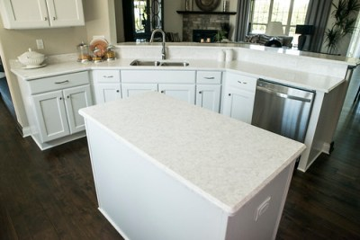 Corian® Quartz (formerly Zodiaq®) Stratus White | Kitchen ...