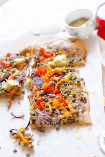 Thin Crust Spring Pizza
