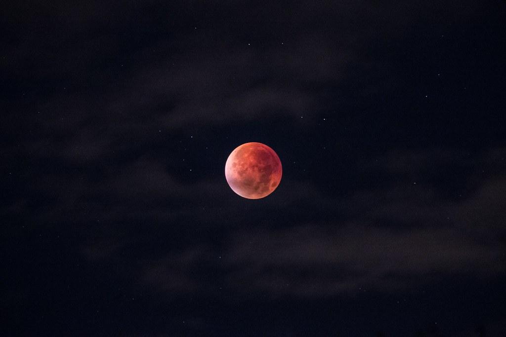 Imagen gratis de la superluna de septiembre de 2015
