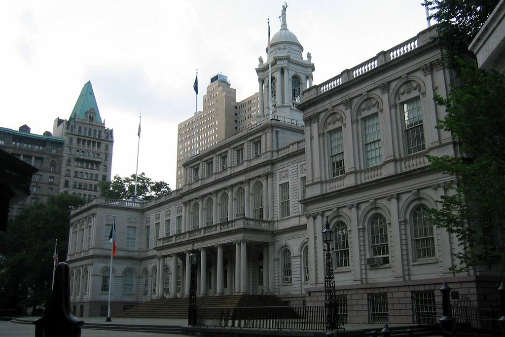 NYC City Hall  New York City Hall on Murray Street betwee  Flickr