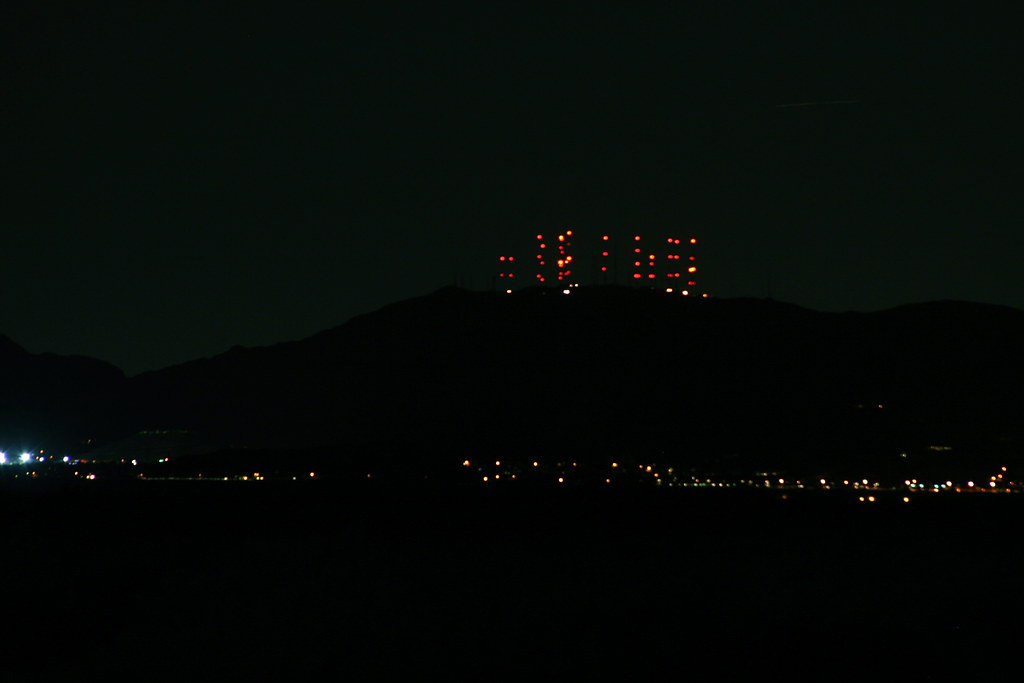 South Mountain Lights  The towers over Ahwatukee  Flickr