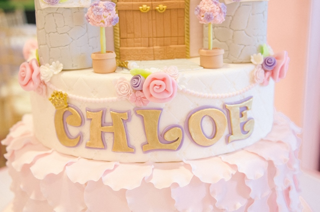 Chloes Royal Garden Themed Party 7th Birthday Party Doll Manila