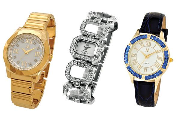 圖說:Melania Trump設計的錶,我比較喜歡中間跟右邊的。