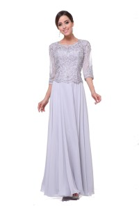 Modest Elegant Mother of the Bride Dress Lace Hijab ...