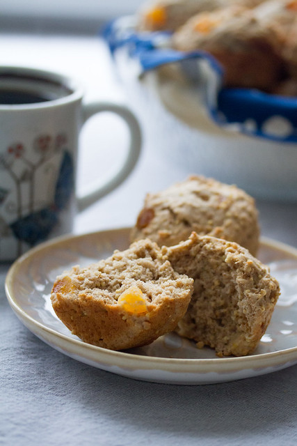 Spiced Apricot and Millet Muffins