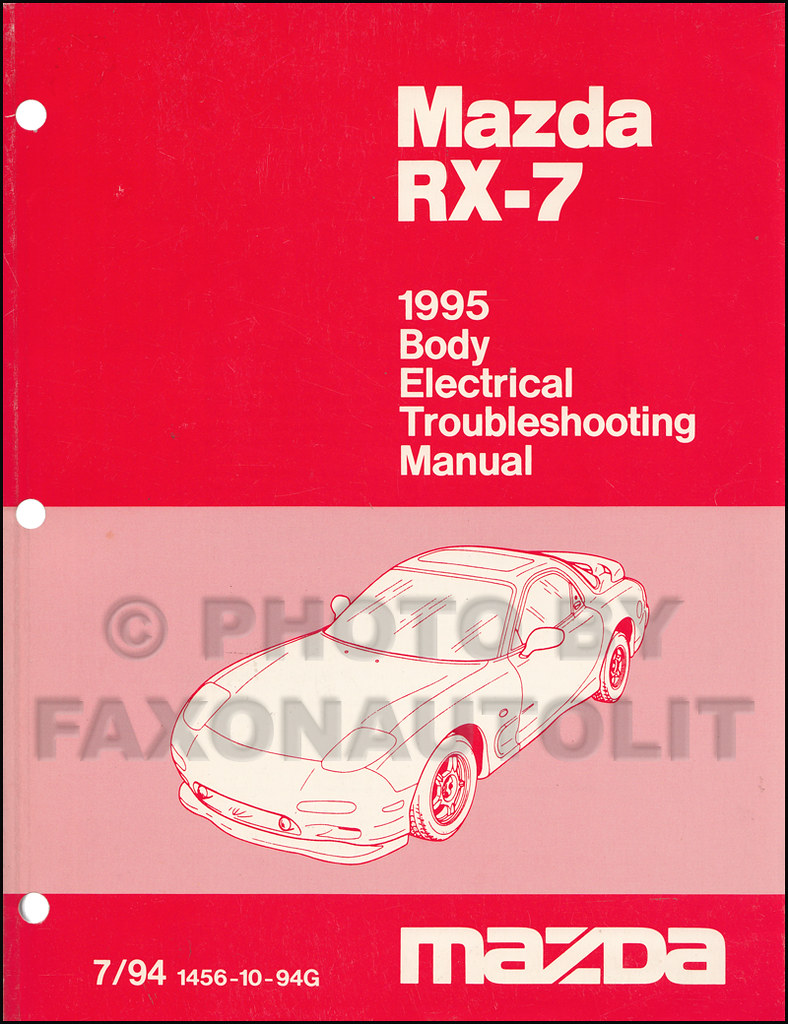 hight resolution of automanualsrepair mazda rx7 wiring diagram manual by automanualsrepair