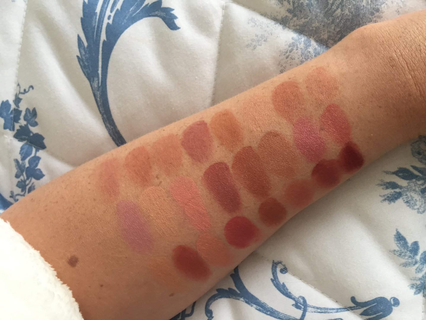 Freedom pro lipstick palette naked review and swatches