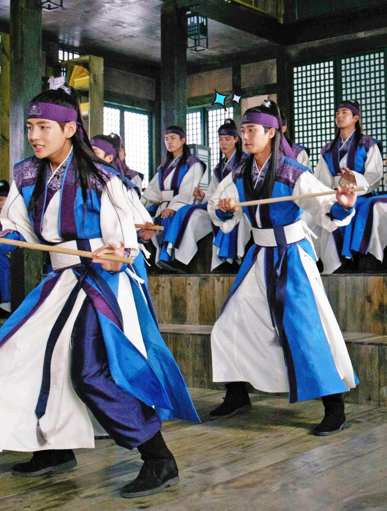 Minimalist Wallpaper Hd Picture Kim Taehyung Bts V At Hwarang 170115