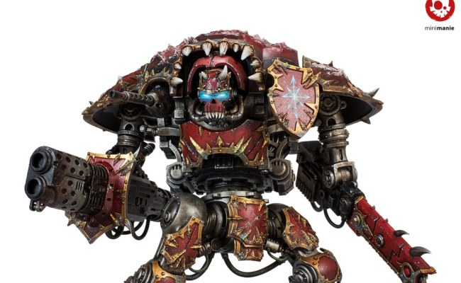 Chaos Knights Forge World Games Workshop Painting Level