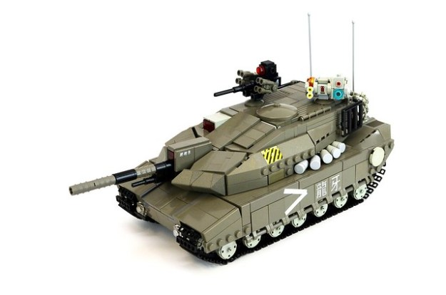 "NATO ""Devil"" Main Battle Tank"