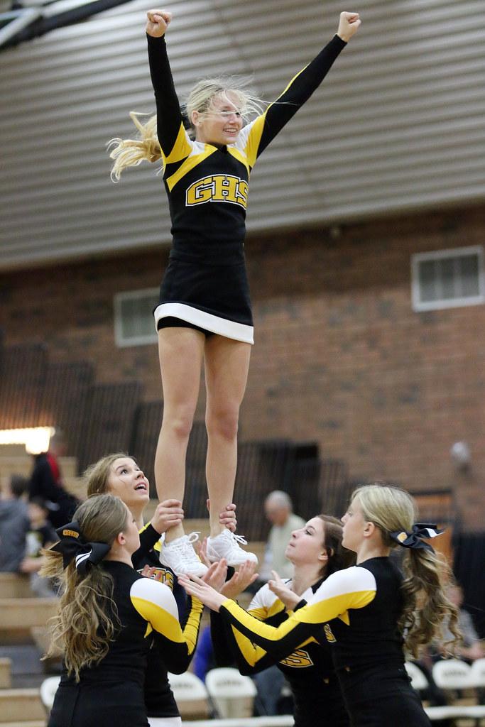 Gilbert High School Cheerleaders  2515  Cheerleaders perfo  Flickr