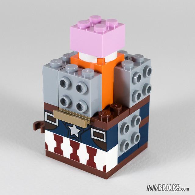 REVIEW LEGO BrickHeadz series 1 Marvel