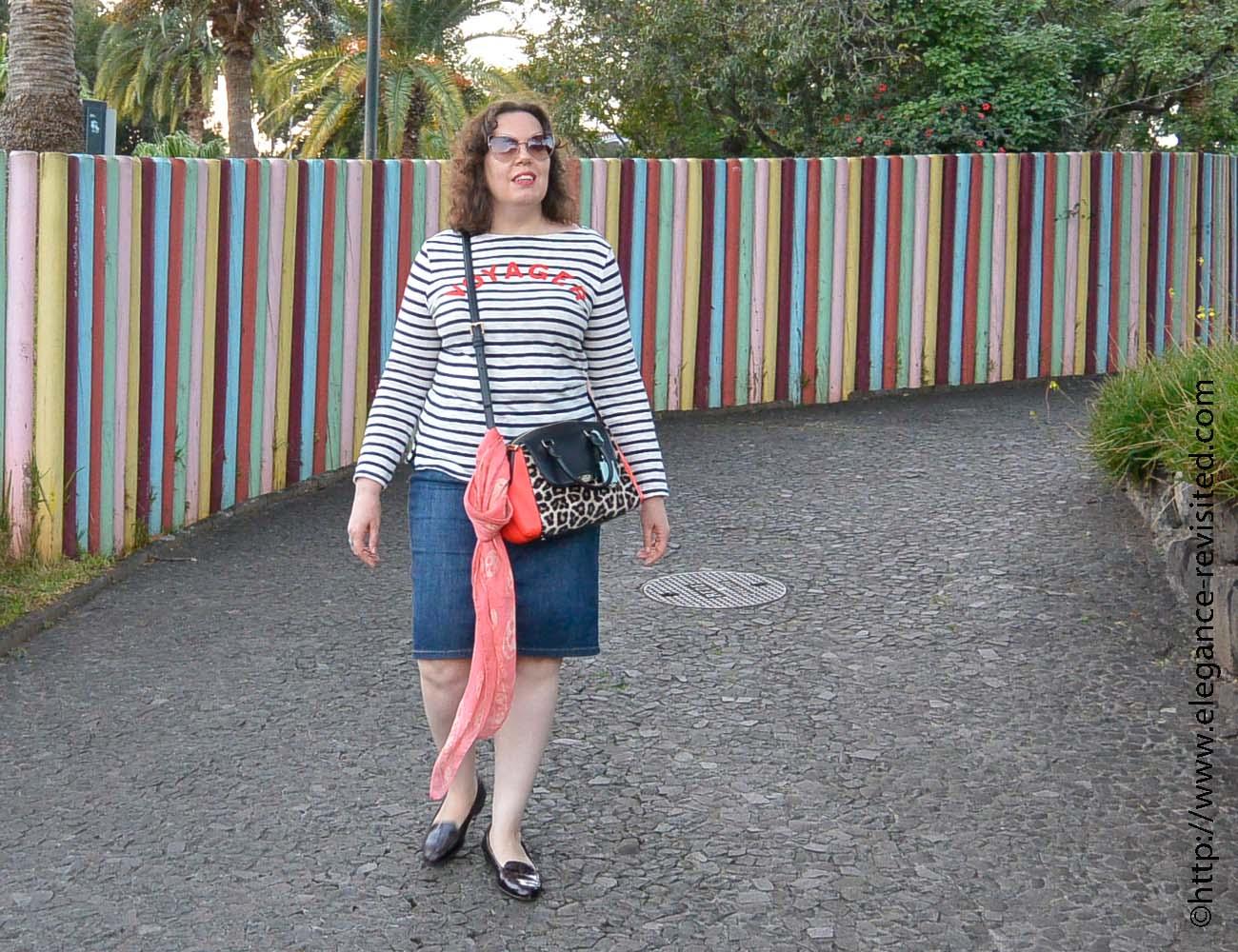 denim skirt over 40