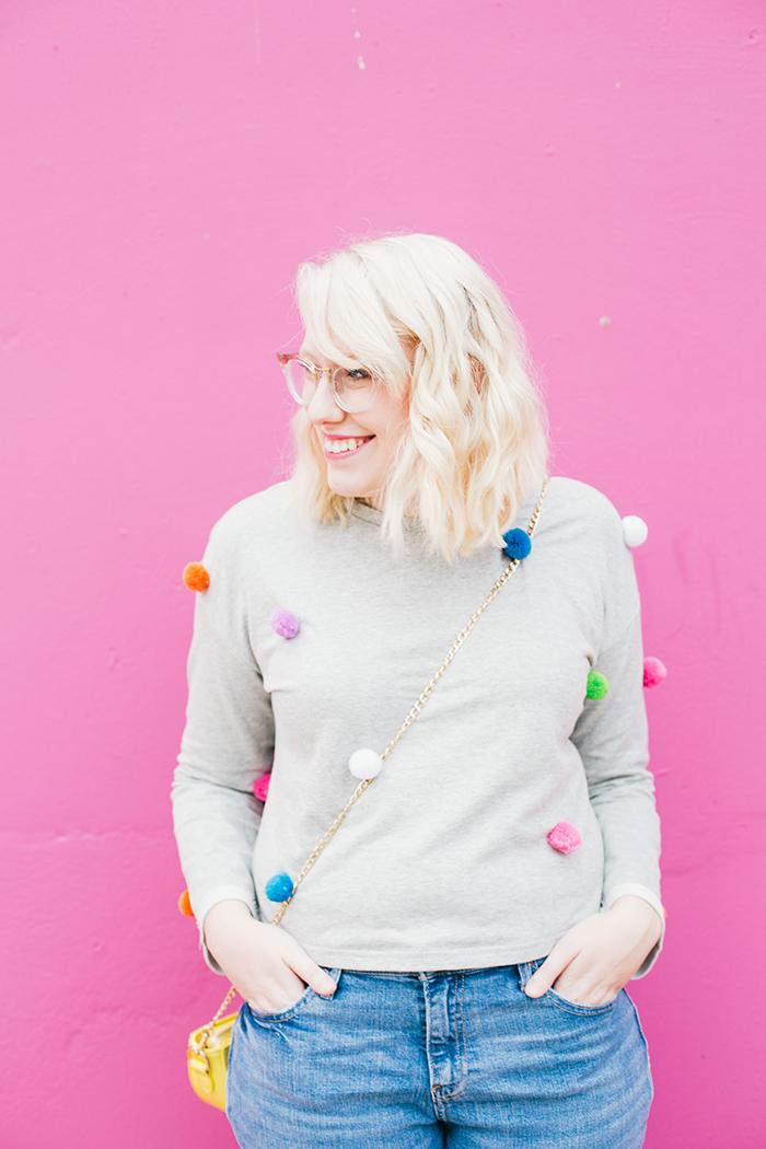 austin fashion blogger pom pom sweater13