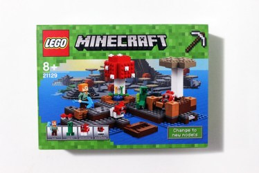 LEGO Minecraft The Mushroom Island 21129 Review The Brick Fan