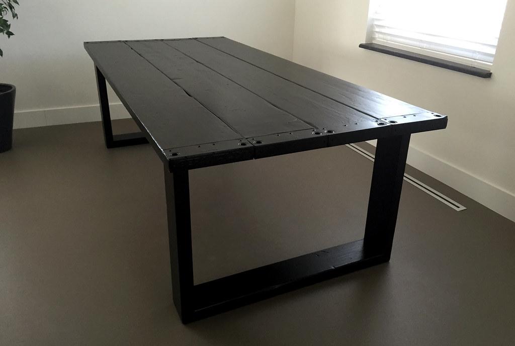 Eettafel RAW XL  Zwart  Te koop bij w00tdesign  Flickr