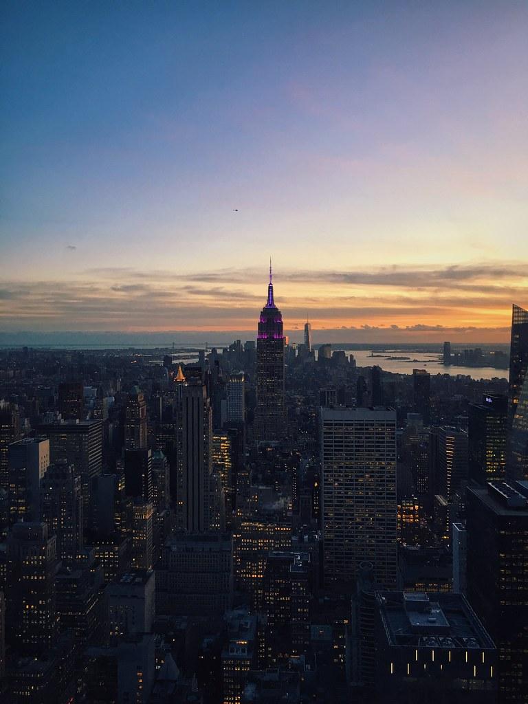 New York City top of the rock vscocam vsco RockefellerC  Flickr