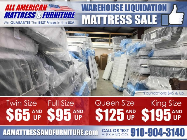 Warehouse Mattress Liquidation 2017_NewPricing2