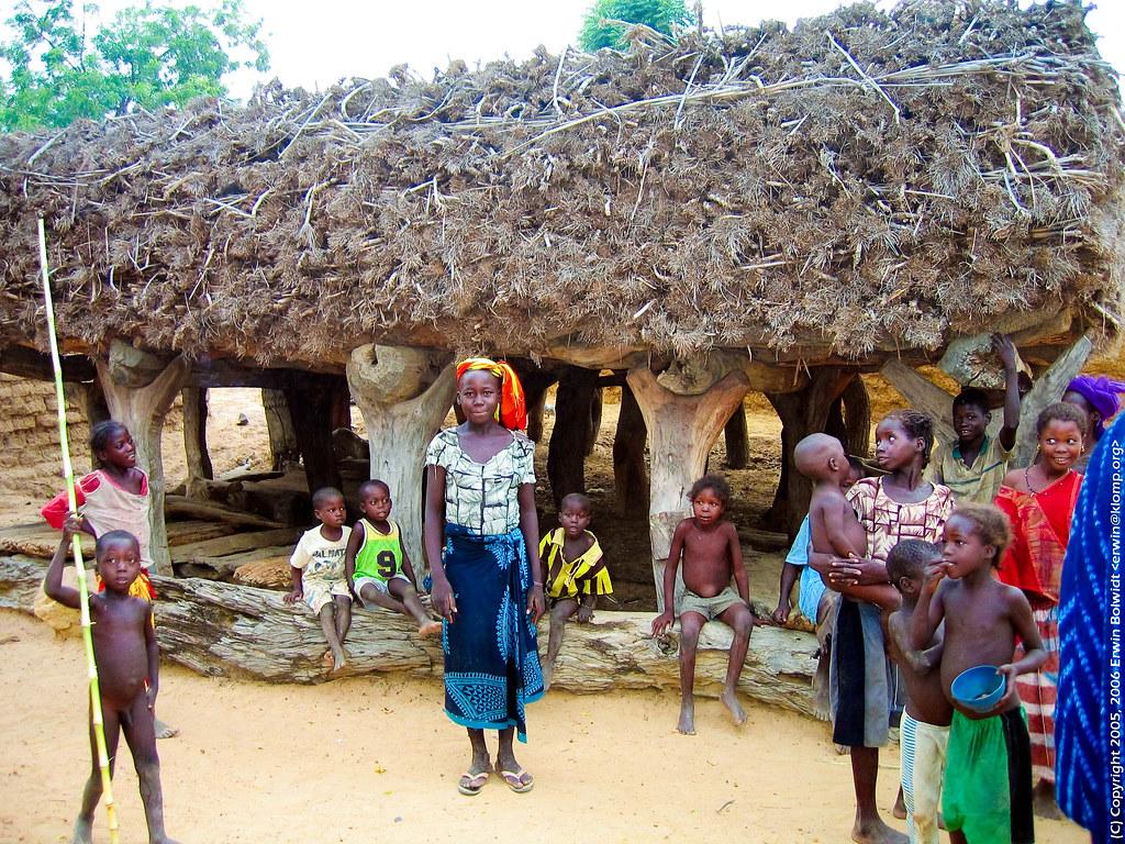 Toguna near Bankass Dogon area Mali  Mens house not so  Flickr